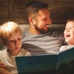 A importância das histórias antes de dormir para as crianças
